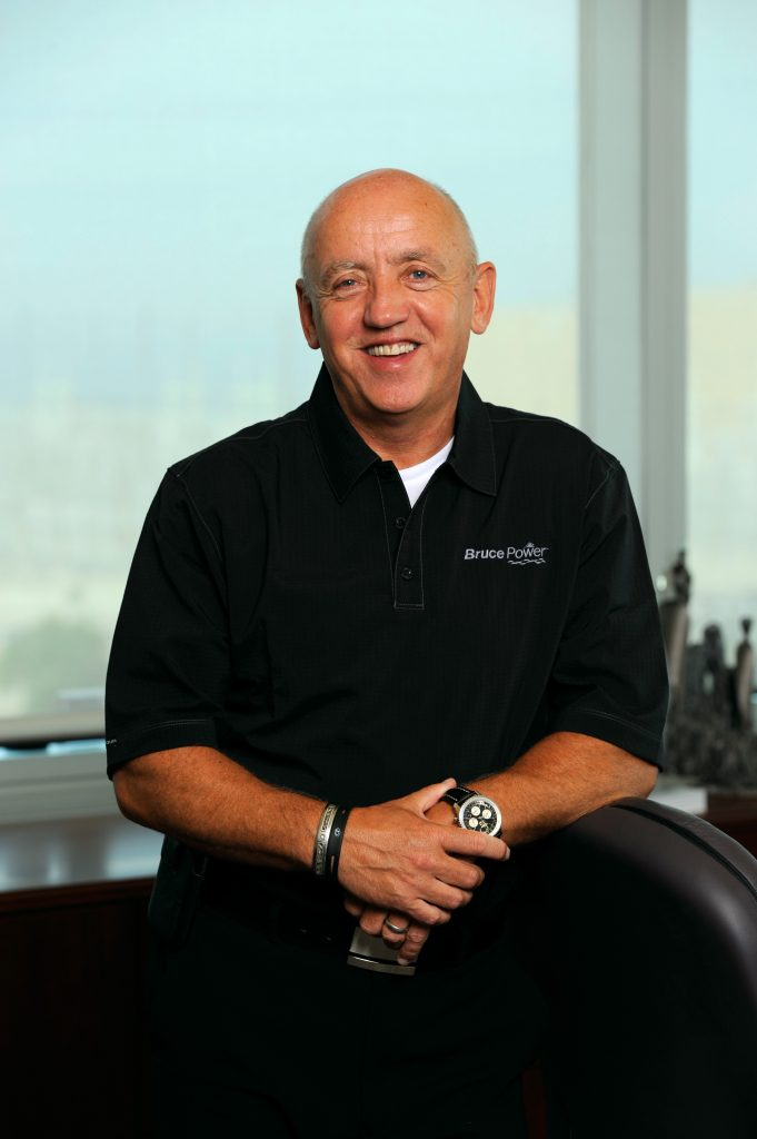 Duncan Hawthorne, Bruce Power President and CEO.