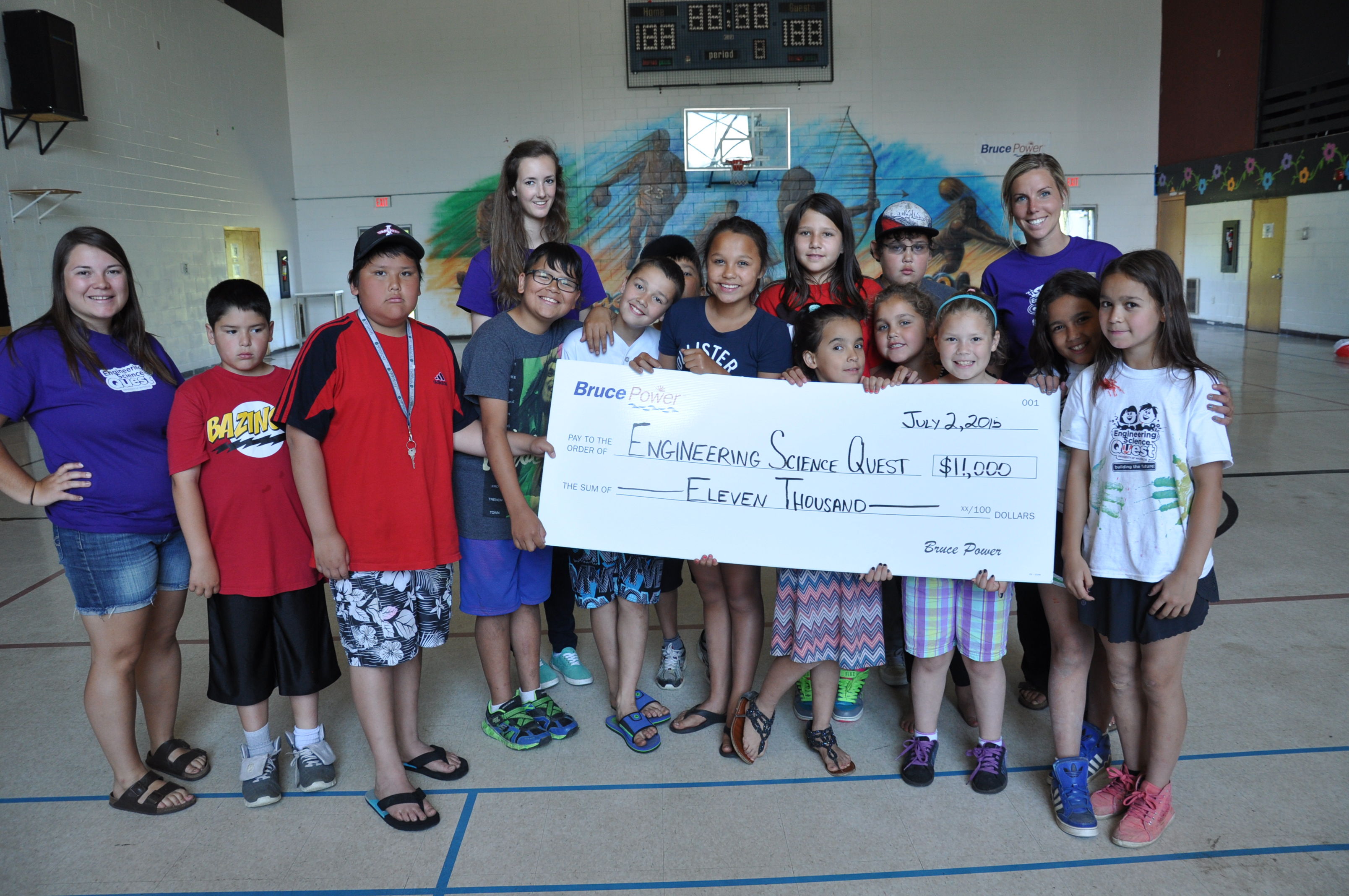 Bruce Power donates over $1.3 million annually through its Community Investment and Sponsorship Program