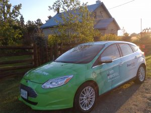 Bruce Power Electric Car