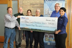 $25,000 for historical society documentary