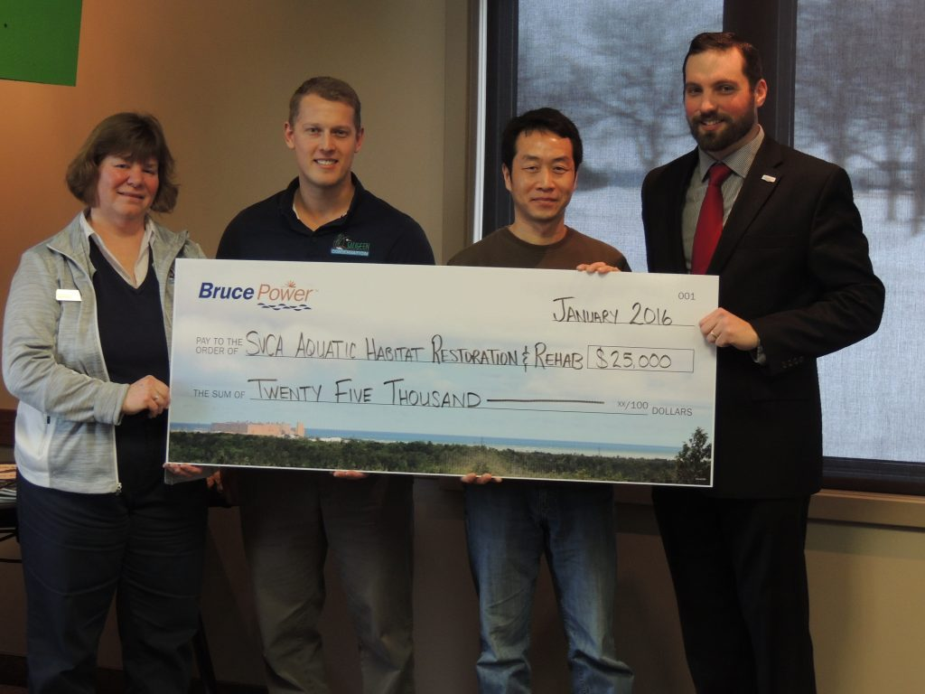 $25,000 donation to Saugeen Valley Conservation Authority